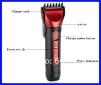 5 в 1 бритвы превосходную функцию отсечения электрическая машинка для стрижки волос + CE и RoHS волос триммер с розничной коробке бесплатная доставка
