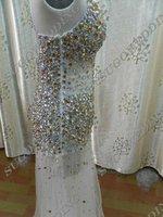 фото настоящее золото повод платье-линии с нарядное платье и вечернее платье тюль с кристалл и крест - крест назад конструктор бесплатная доставка