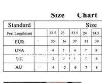 алмаз высокая - пятки сникер для женщины горный хрусталь свободного покроя кожа обувь 35 евро-39 fdt454