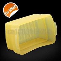 10 шт. желтый отказов рассеиватель для Canon вспышки Speedlite 580ех + отслеживая номер