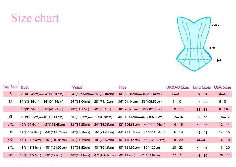 Corset-Size-Chart