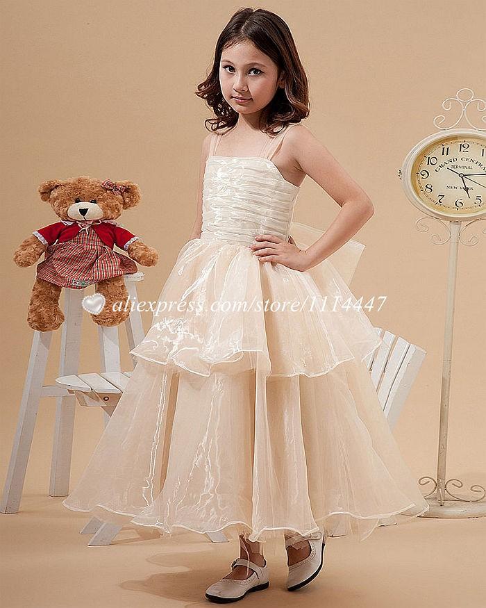 новые бестселлер бесплатная доставка на заказ платье-линии площадь Shaman цветок платье для девочки с группа # жд2