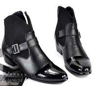 мужская мода RO ремень планет почтовый сторона риск bloke кожаные ботинки размер сша 7 - 10 - m144