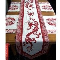 Burton появляются хлопчатобумажная ткань китайский флаг / / мат / стол сочетание удачи