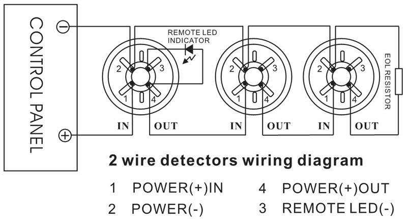 2 wire smoke detector wiring diagram  rj45 t1 wiring