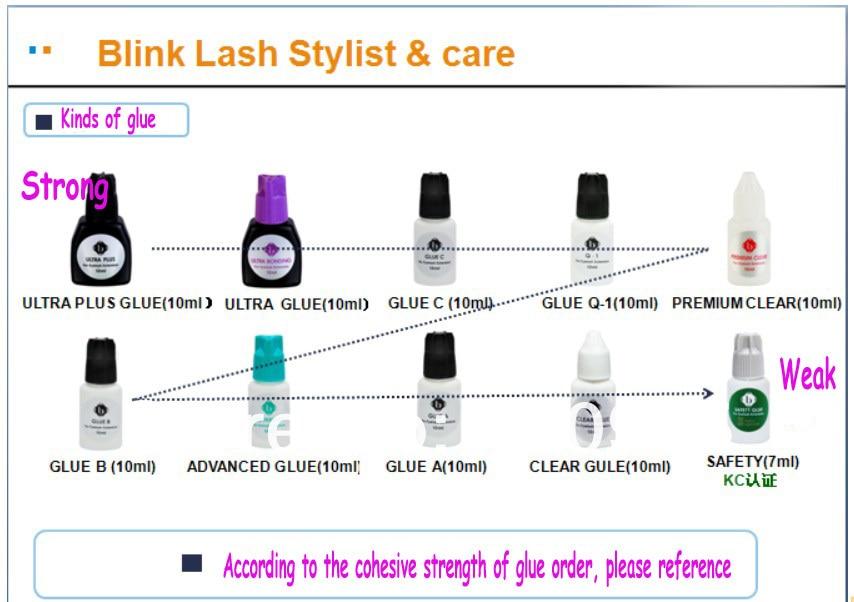 False Grafting Eyelash Glue Dry Fast Blink Lash Eyelash Extension