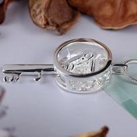925 серебро ожерелье корона ключ ожерелье весна ювелирные изделия