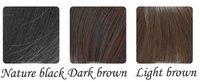 женская парики волос синтетический парики темно-русый / шатен