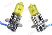 супер желтый 3 к 100 вт ксенон газ галогенные Н3 автомобилей туман свет ламп накаливания постоянного тока 12 в 2860% к