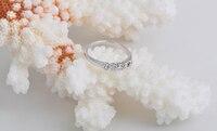 бесплатная доставка 18 к белый GP и ясно ГБО мода женщины кольцо 900350