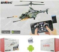 3ч запуск ракетку я - вертолет u810a андроид iPhone-контроллер вертолет удинском р / C Walk