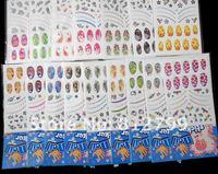 новинка горячая распродажа 60 лист slay сочетание цвет красочные Comic ногтя наклейки на маникюр самоклеящиеся цветок оптовая продажа