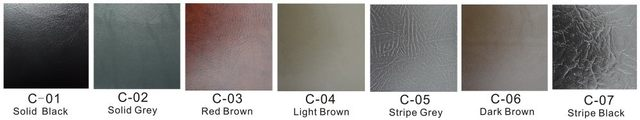 Color swatches of spa cover