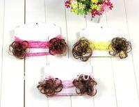 новое постулат ребенок кружево цветок повязка на голову с Майло парк бесплатная доставка 30 шт./лот kls002