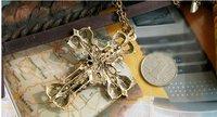 транспортное средство роза пор colon Crest ожерелье, whloeювелирные изделия