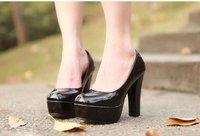 бесплатная доставка, 2015 горячая распродажа спандекс сексуальная конфеты цвет круглый носок тонкие туфли на каблуках, женщина леди туфли на высоком каблуке. мода женщин туфли на высоком каблуке