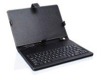 """Интерфейс USB клавиатура кожаный чехол мешок для 7 """" планшет пк и mid кпк по 8650, бесплатная доставка + прямая поставка"""