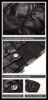 горячая распродажа новинка женщин искусственная кожа / женский пиджак / леди пальто / верхняя одежда, № 413092 магазин