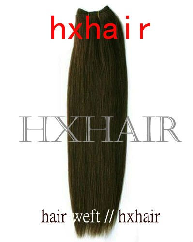 hair weft black