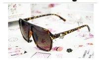 новый ретро-панк череп моды и ohguro очки лист очки солнцезащитные очки бесплатная доставка