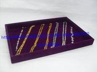 4 фиолетовый baht ювелирные изделия организатор показать чехол дисплей коробка смотри свидание сток