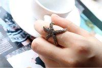 19 мм размер ретро мило морские звезды ювелирные изделия кольца j1295