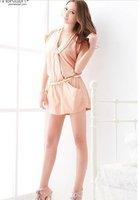 новое поступление, горячая распродажа корейский / женщин японии мода горячие комбинезоны / комбинезон верхняя одежда крест - крест топ комбинезоны / комбинезон / x1993