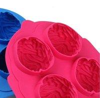 лед заморозка куб силикон для чайник форма мозга инструмент форма бар ну вечеринку пейте нового d8057