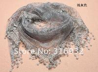 кружево шарф, кружево SAL, руководитель