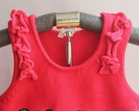 оптовая продажа дети девочка свитер мультфильм медведь Gel Gel свитер дети одежда 3 шт./лот бесплатная доставка