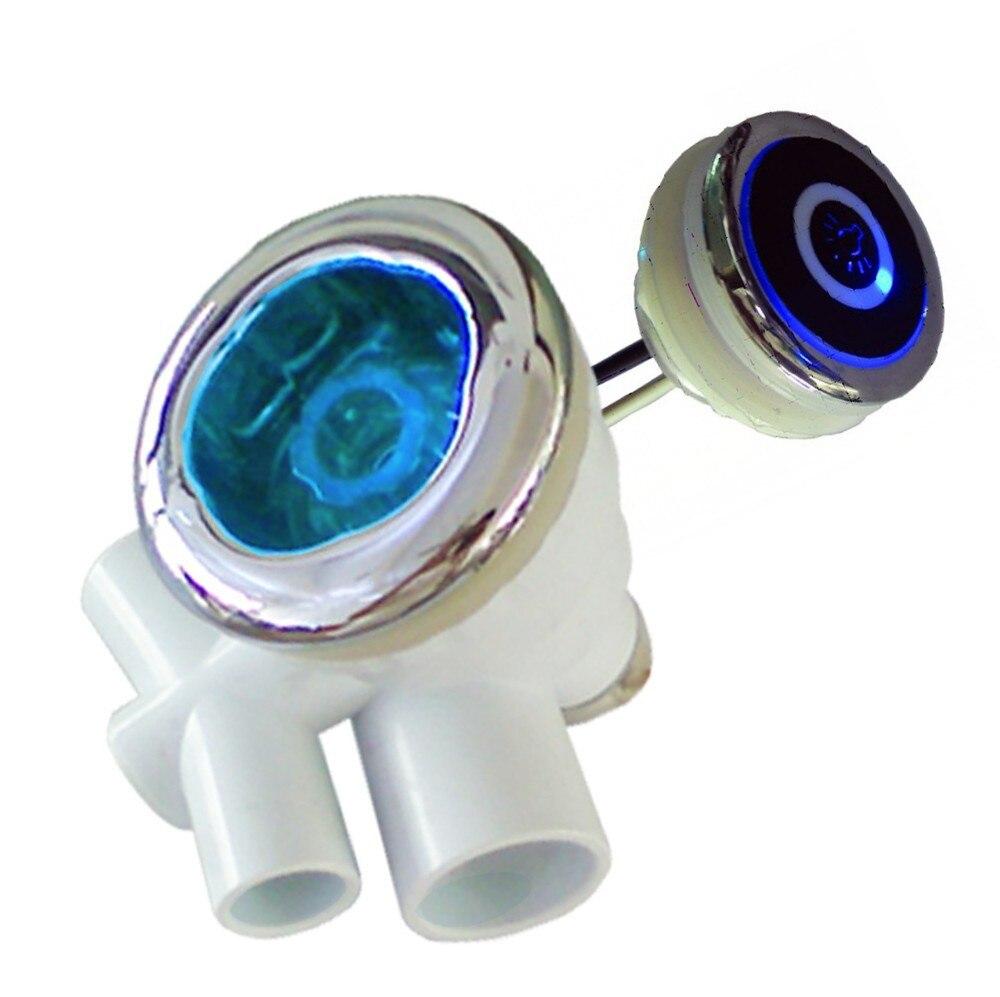 10pcs buit in waterproof ip44 RGB LED underwater spa hot tub water ...