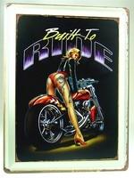 30 * 40 см дракон татуировки своих главная клуб красоты езды мотоцикл плакат олово стены декор металлического железа живопись