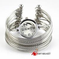 роскошные леди браслет кварцевые наручные часы платье арабскими цифрами круглый линия из нержавеющей стали новый iw3202-iw3209