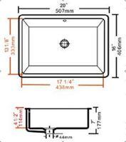 купч / кка сертификации керамическая мойка / под счетчик бассейна