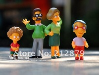 действие рисунок, Simpsons семья, Comics рисунок, 14 шт. / комплект, 8 см высокие, пвх, лучший подарок