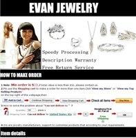 evystzer серебро в форме сердца серьги-гвоздики для женщины серебро ювелирные изделия