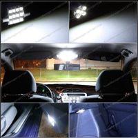 белый / синий 6 фары из светодиодов купол карта шаг ствол фары интерьер пакет услуг на 2003 год - Хонда Аккорд 2/4 д-р