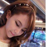 мода сладкий изысканный горный хрусталь ювелирные изделия волос для женщин t6116