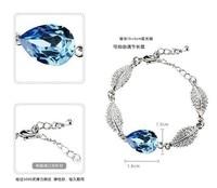 569 корейских ювелирных оптовая продажа флэш-дрель листья капли воды подарок для девочек