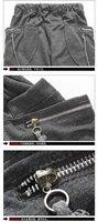 новый мужская свободного покроя мешковатые брюки стильный карман брюк шаровары бесплатная доставка