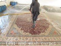 вязание ручной персидский шелковый ковер