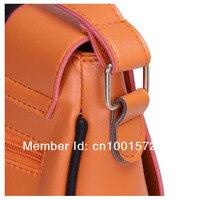 бесплатная доставка женская мода искусственная кожа кошельки и сумки милый сова глава сумка крест тела сумочки сумки оптовая продажа b008