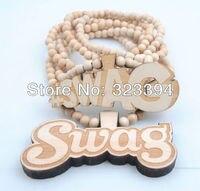 хип-хоп добычу кулон мяч бусины цепь ожерелье
