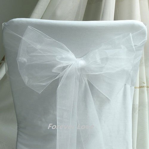 White Chair Sashes Ergonomic Home 100 Quality Assurances Free Shipping By Express 100pcs Peach Sho Ylw Wht