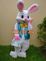талисман новый профессиональный пасхальный заяц костюм талисмана ошибки кролика харе взрослых необычные платья костюм бесплатный ш