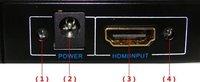 1 х 2 микро-HDMI для amplifie сплиттер высокой четкости а . в . В1.3 1080 р с HDCP 1 вход 2 outputretail акк новое