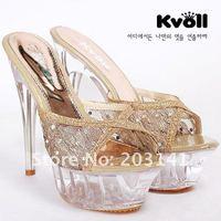 t1932 бесплатная доставка 14 см пу роскошные туфли на каблуках тапочки, туфли на высоких каблуках