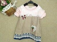 100% хлопок 0 - 4 лет детская рубашка