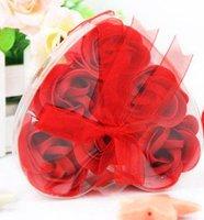 новинка продукт 50 коробки / много красивые мэджик мыло цветы с микс-цветов