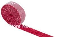 бесплатная доставка 1 Ярд / много - 15 * 1000 мм Mean цвет нейлон связей реванш на липучке для кабель-шнур prod организация
